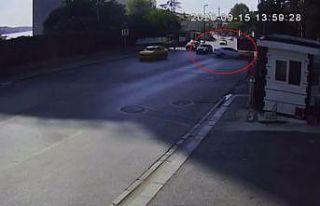 (Özel) İstanbul'da hatalı dönüş kazası kamerada:...