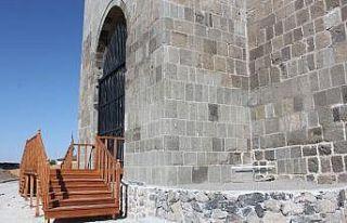 Tarihi Erzurum Kalesi'nin çehresi değişti