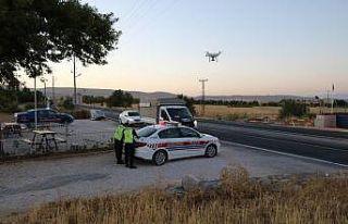 Elazığ'da jandarma, drone destekli uygulamayla...