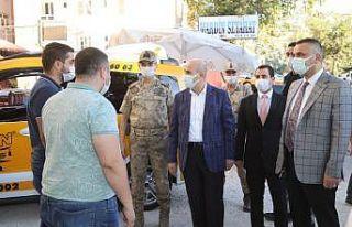 Mardin'de korona virüs denetimleri devam ediyor