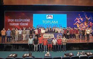 Mersin Büyükşehir Belediyesi 160 amatör spor kulübüne...