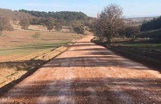 Çokçapınar ile Erenköy yolu stabilize bakım çalışmasına...