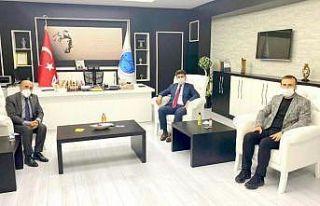 Rektör Karacoşkun'a Gaziantep'ten ziyaret