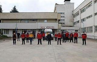 Vali Aktaş'tan İzmir kahramanlarına ziyaret