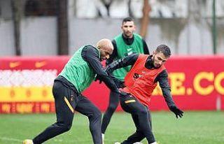 Galatasaray kupa mesaisine başladı