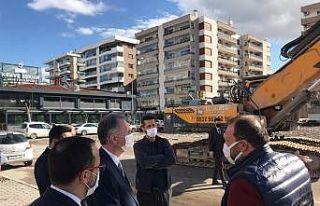 İnegöl Belediye Başkanı Alper Taban, İzmir depremi...