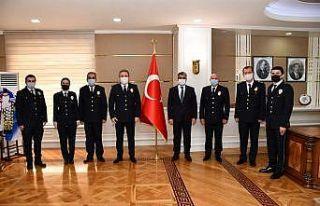 Emniyet teşkilatından Vali Gürel'e 'Polis Haftası'...