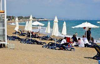 Manavgat'ta plajlar ve mesire alanları faaliyete...