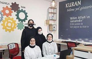 Samsun TÜBİTAK Türkiye Finali'nde yedi projede...