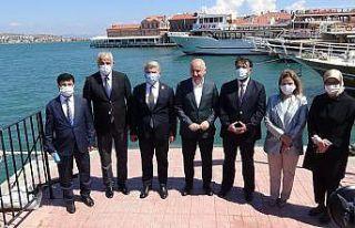 Ulaştırma ve Altyapı Bakanı Karaismailoğlu Balıkesir'de