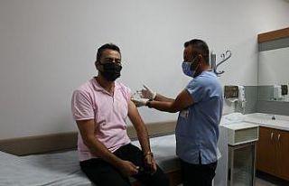 650 bin nüfuslu Sivas'ta 500 bin doz aşı uygulandı