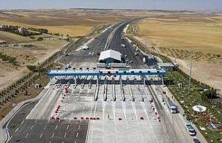 Ankara-Niğde Otoyolu'ndaki indirim sürücüleri...