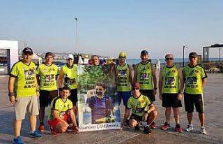 Samsun Atakum Run Club ailesi Muammer Çam'ı unutmadı