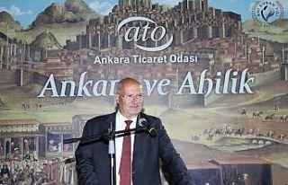 """ATO Başkanı Baran: """"Ahiliğe başkentlik yapan..."""