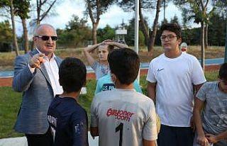 Gençlik ve Spor Merkezine gençlerden yoğun ilgi