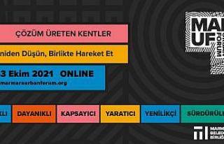 Kentlerin bugünü ve geleceği Marmara Urban Forum'da...