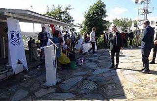 Cevat Şakir'in anma töreninde kriz