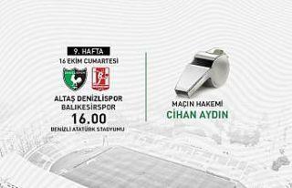 Denizlispor - Balıkesirspor maçında Cihan Aydın...
