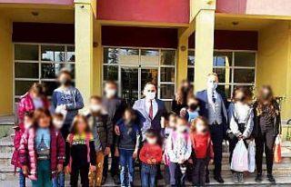 Koruma Kurulu'ndan hükümlü çocuklarına yardım