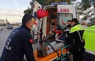 Menteşe'de trafik kazası: 1 yaralı