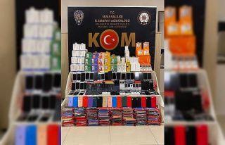 Sivas'ta yüzlerce gümrük kaçağı ürün ele...