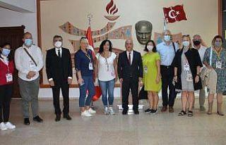 """""""TEAMS"""" projesinin ilk toplantısı Eskişehir'de..."""