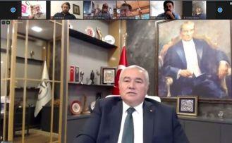 """ATSO Başkanı Çetin: """"Antalya ekonomisi afet yaşadı"""""""