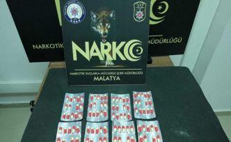 Malatya'da torbacı operasyonunda 1 tutuklama