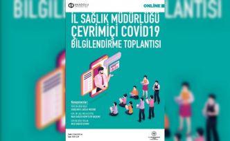 Anadolu Üniversitesi'nde Korona virüs bilgilendirme toplantısı yapıldı
