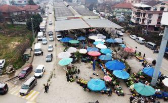 4 Mahallede pazaryeri hizmete açılacak