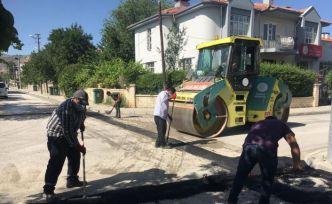 Erzincan'da üst yapı çalışmaları devam ediyor