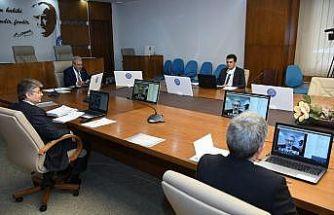 Ege Üniversitesi Senatosu internet ortamında toplandı