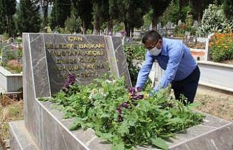 Çan Belediye Başkanından vefat eden başkanlara vefa örneği