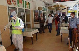 Didim'deki işletmeler dezenfekte edilerek, yeni döneme hazırlandı
