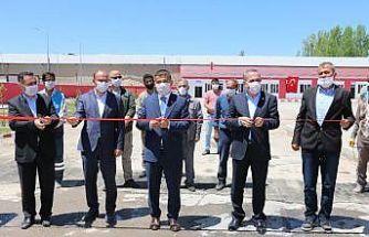 Erciş Belediyesi Temizlik İşleri Müdürlüğü binası hizmete açıldı