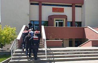 Jandarmanın uyuşturucu operasyonunda 2 kişi gözaltına alındı