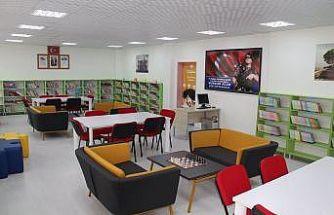Tosya'da 9. kütüphane açıldı