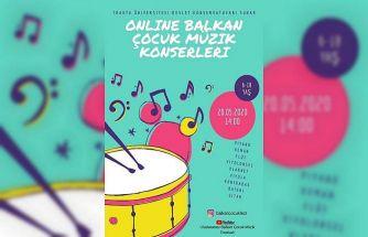 """Trakya Üniversitesinin organizasyonuyla """"Balkan çocuk müzik konserleri"""""""