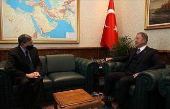 ABD Ankara Büyükelçisi Satterfield Bakan Akar'ı ziyaret etti