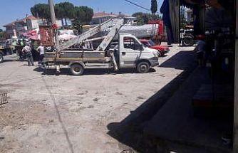 Çan'da işçiler vinç sepetinden düştü: 1 ölü, 1 ağır yaralı