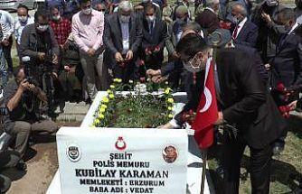 Erzurum'da 15 Temmuz şehitleri mezarı başında anıldı