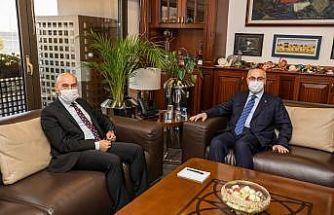 Vali Köşger'den Başkan Soyer'e iade-i ziyaret