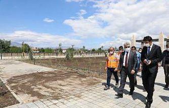 Vali Makas, Vasgirt Deresi Proje Alanı ve P1 ile P2 pompaj tesislerinde incelemelerde bulundu