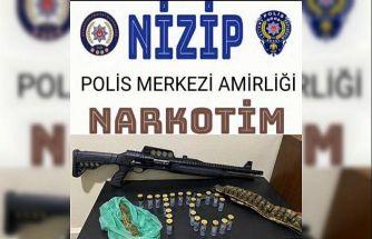 Gaziantep'te aranan 54 şüpheli yakalandı