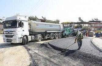 Aydın Büyükşehir Belediyesi Nazilli Hasköy yolunu yeniliyor