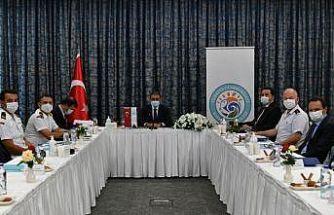 Balıkesir İl Güvenlik Koordinasyon Toplantısı Ayvalık'ta gerçekleştirildi