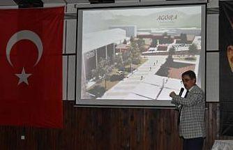 Başkan İnal, hayalindeki proje tanıttı