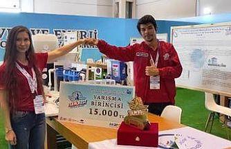 Düzce Üniversitesi Çevre Takımı TEKNOFEST'te birinci oldu