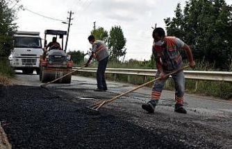 Kırsalda ve merkezde üstyapı çalışmaları sürüyor