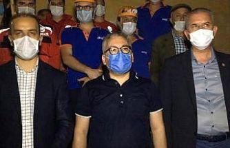 """Niğde Valisi Yılmaz Şimşek;  """"Obruk köyünde can ve mal kaybı yok"""""""